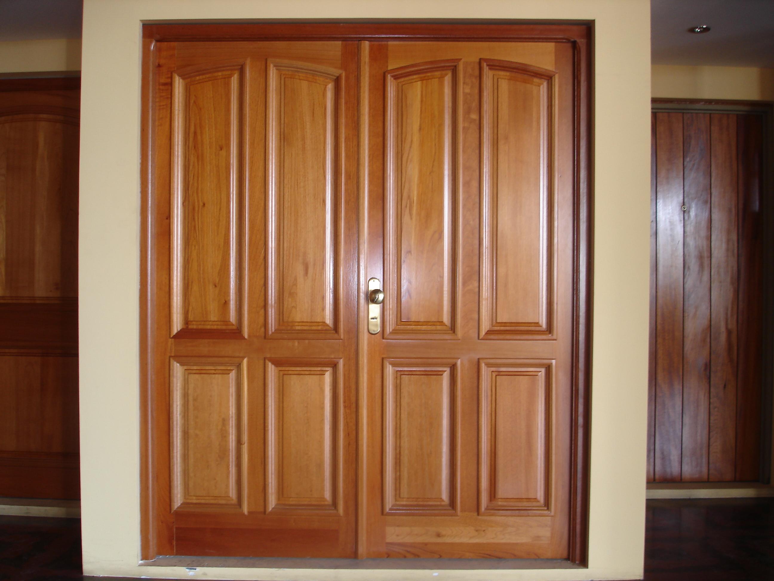 Top puertas madera para muebles wallpapers - Puertas de madera ...